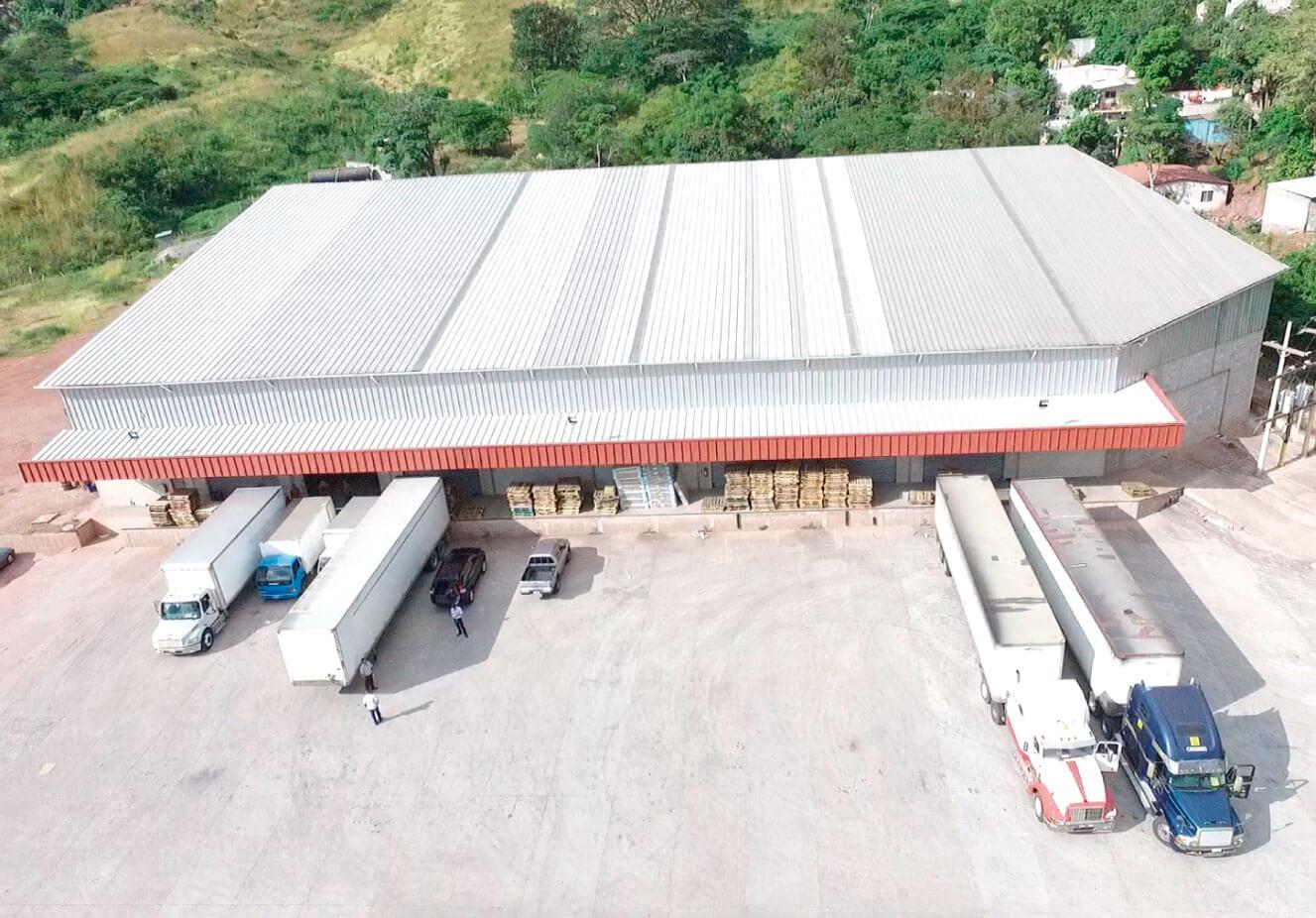 Área de almacenaje Compañía Distribuidora