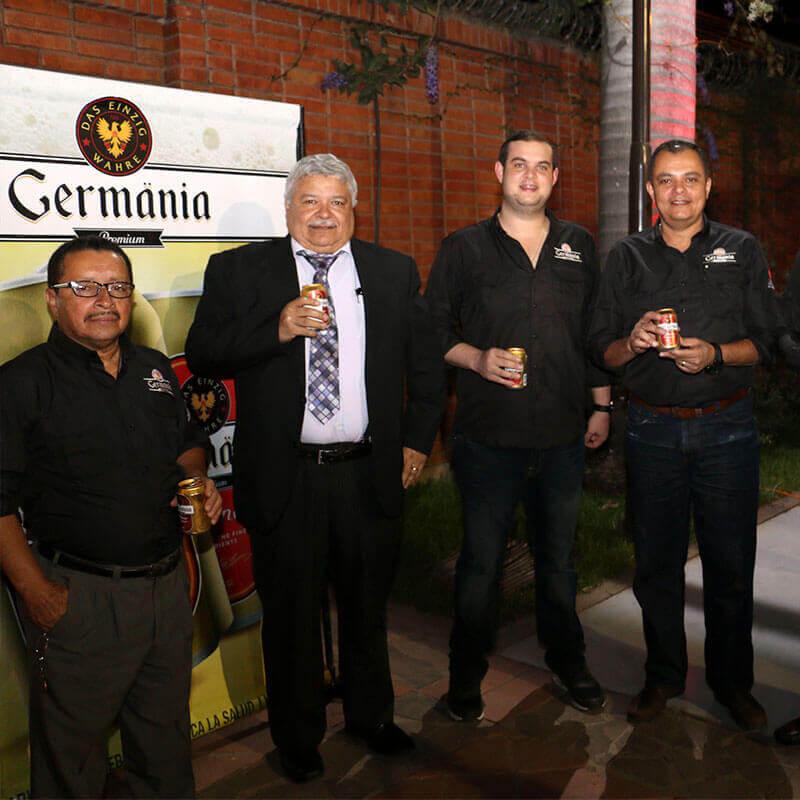 Lanzamiento cerveza Germänia Premium en Honduras